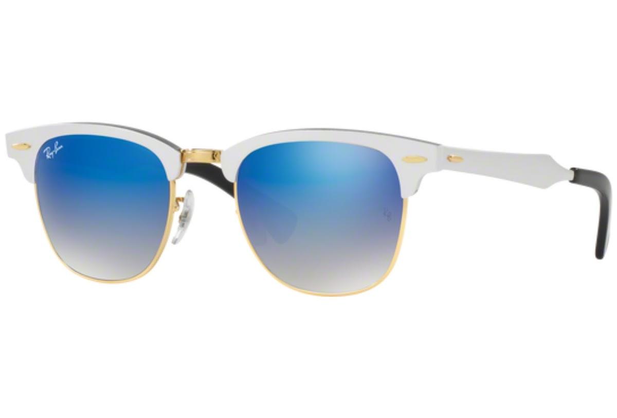6989673dc8 Buy Ray-Ban Clubmaster Aluminum RB3507 C51 137 7Q Sunglasses