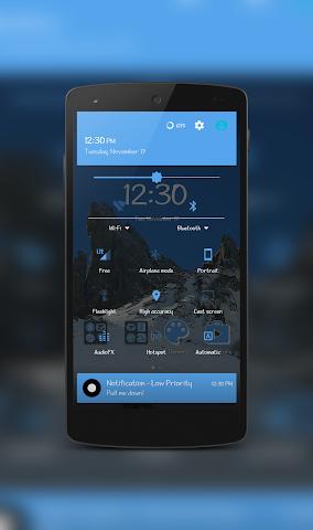 android IcyPeak CM12.1 Theme Screenshot 2