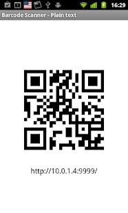 Share via HTTP - File Transfer Screenshot