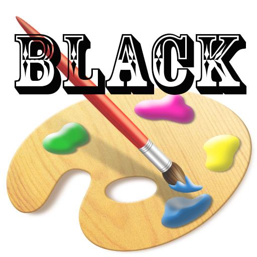 娱乐のブラック描画子 LOGO-記事Game