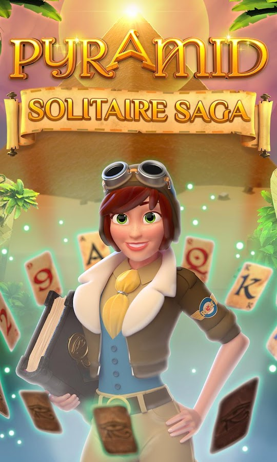 Pyramid Solitaire Game Saga