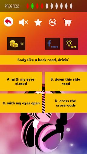 Finish The Lyrics - Free Music Quiz App 3.0.0 screenshots 5