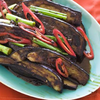 Eggplant in Black Bean Sauce