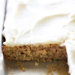 Zucchini Sheet Cake