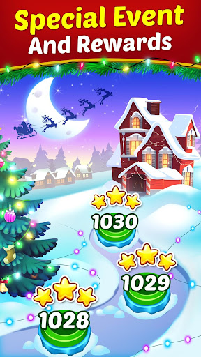 Christmas Cookie - Santa Claus's Match 3 Adventure modavailable screenshots 6