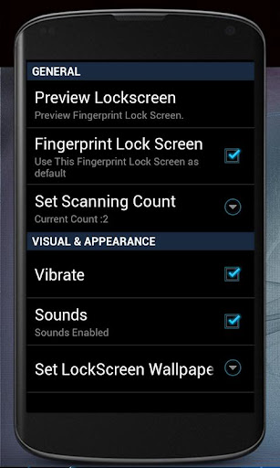 Finger Print Lock Screen Prank