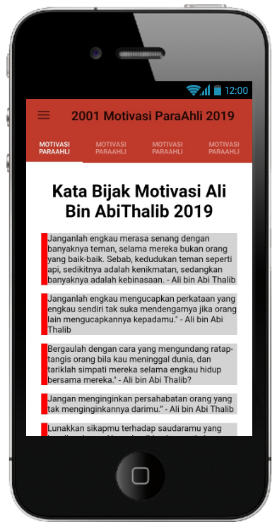 Kata Kata Bijak & Motivasi Para Ahli 2019 – Android