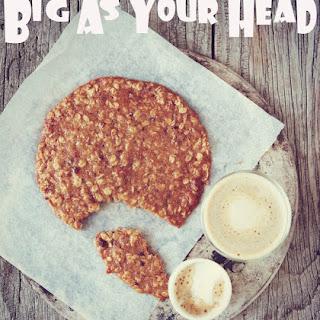 Big As Your Head Oat, Pecan and Orange Cookies