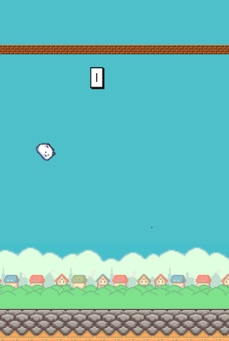 android Flying Cat Screenshot 1