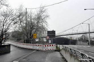 Photo: Radweg hier beim Leuze unterbrochen für B14-Rosensteintunnel