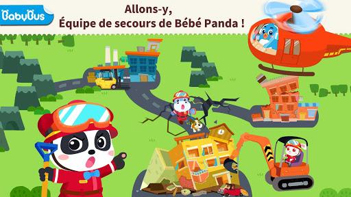 Sauvetage de Bébé Panda lors du séisme! fond d'écran 1