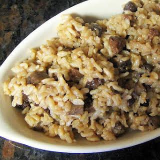 Brown Basmati Rice Pilaf.