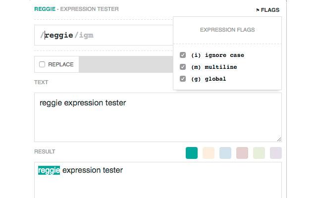Reggie - Expression Tester