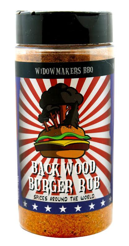Backwoord Burger Rub – Widowmakers BBQ