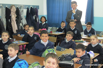 Photo: Observation à l'école catholique melkite à Ramallah