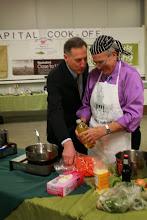 Photo: VT Gov. Peter Shumlin & VT Senator Richard Mazza