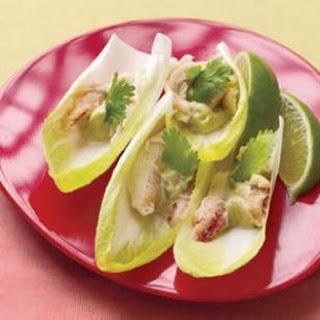 Wasabi Crab on Endive Recipe