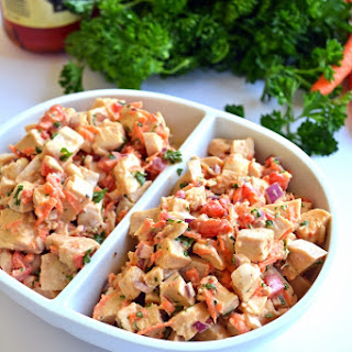 Roasted Garlic Chicken Salad