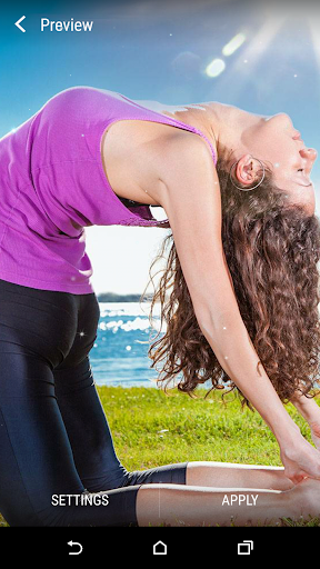 Yoga Live Wallpaper