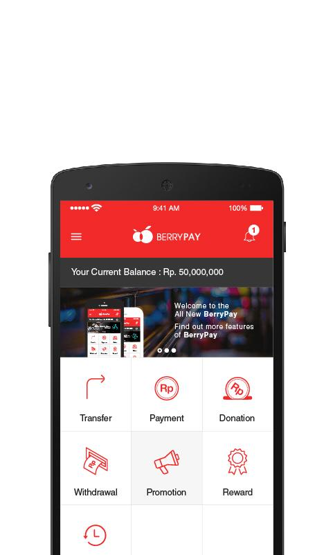 BerryPay Indonesia- screenshot