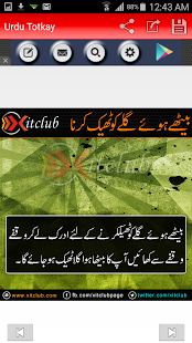 Urdu Totkay- screenshot thumbnail