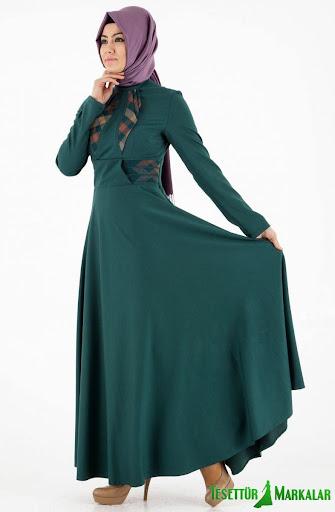 ヒジャーブ服のスタイル2015
