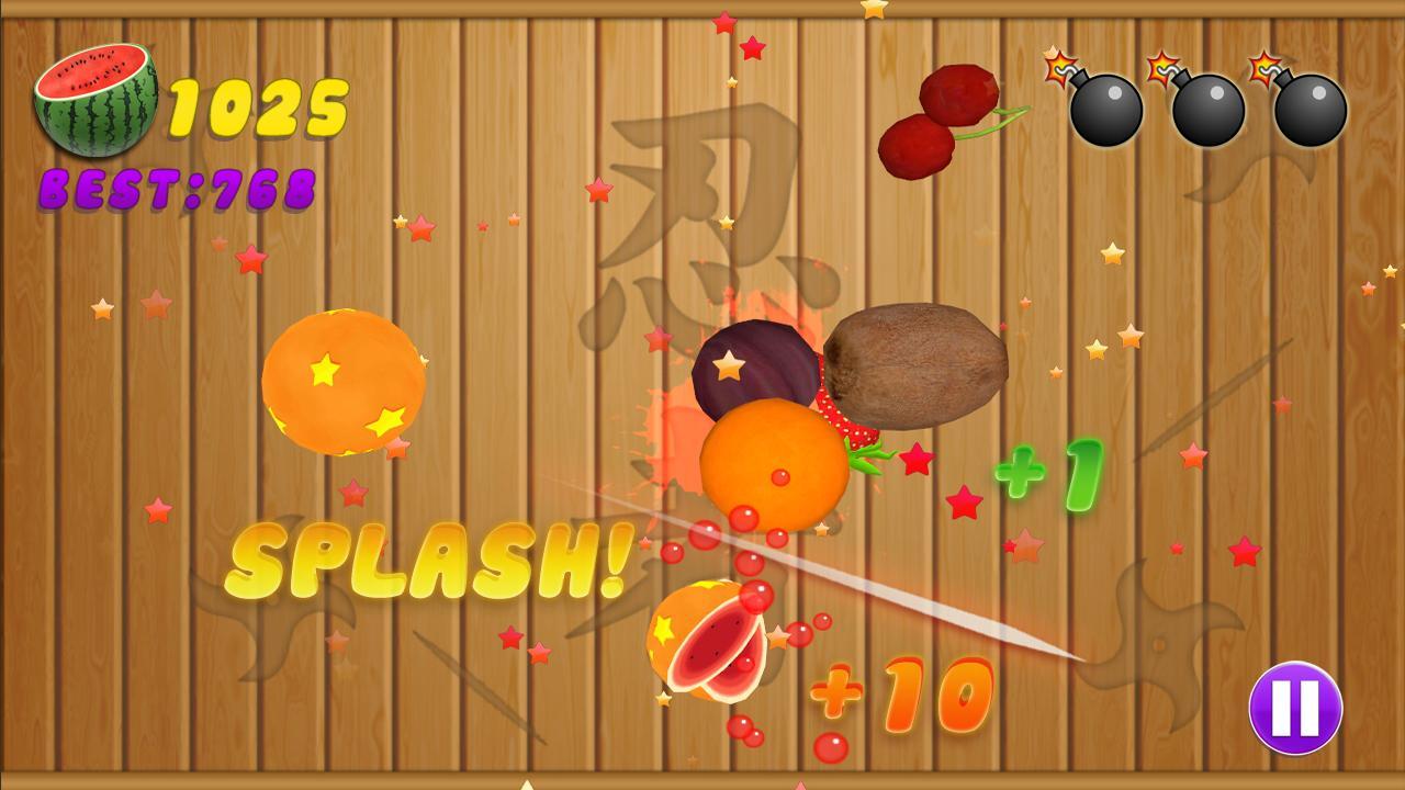 Ninja fruit cutter game free download - Fruit Cut Free Game Screenshot