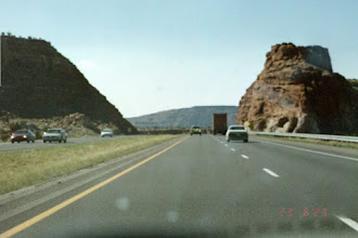Photo: New Mexico - Nearing Arizona