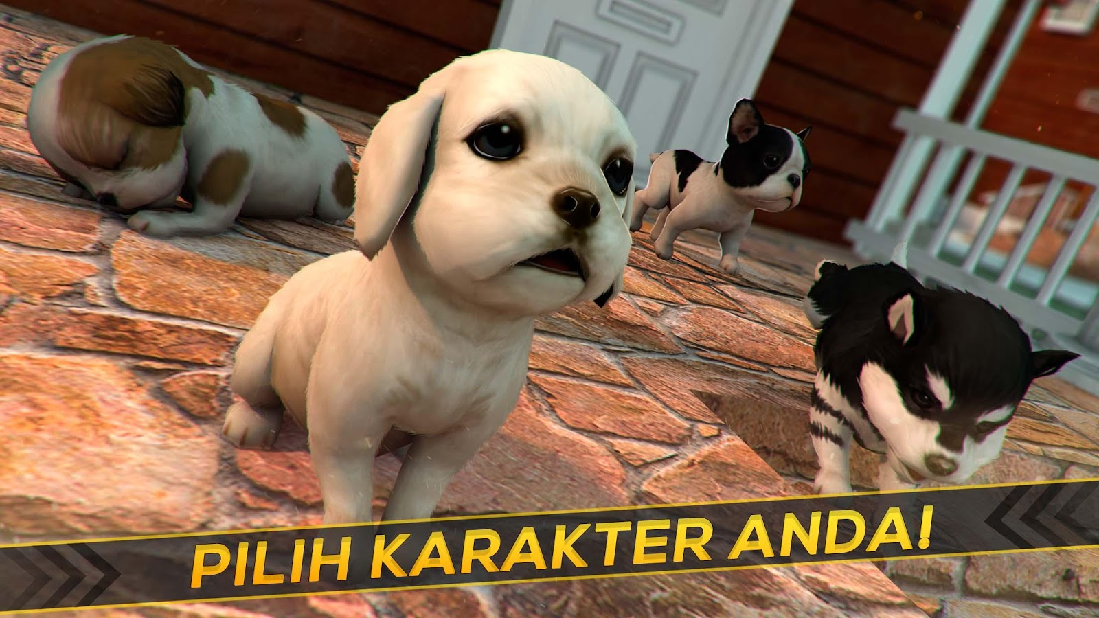 Anak Anjing Kucing Permainan Apl Android Di Google Play