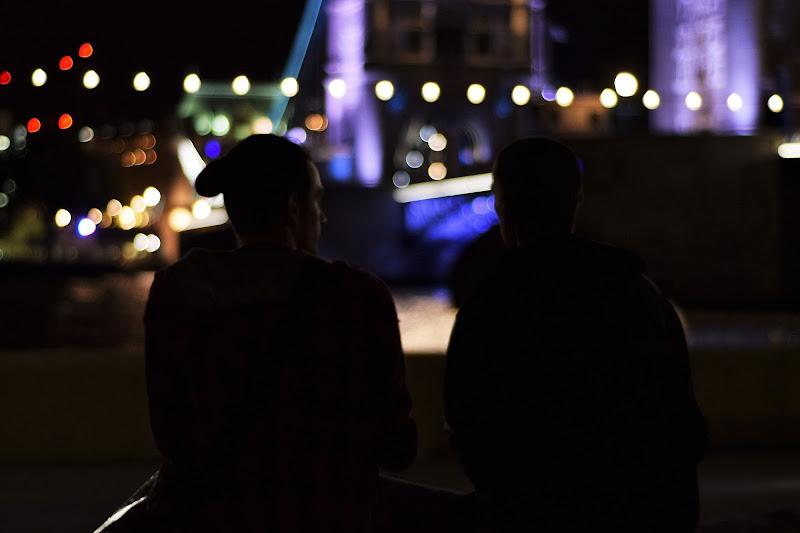 Ombre, Tower Bridge di elena.mazzu