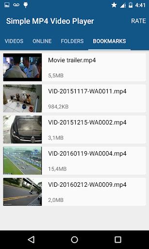 Simple MP4 Video Player 3.1.0 screenshots 2