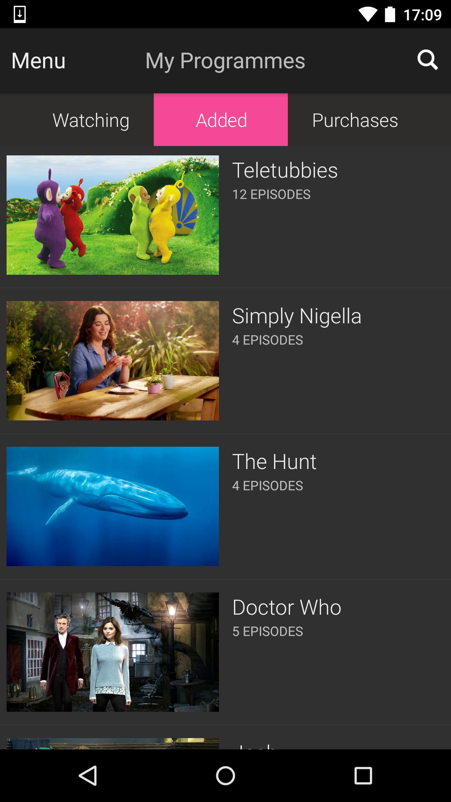 BBC iPlayer screenshot #4