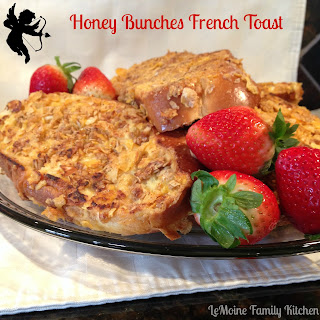 Honey Bunches French Toast & Strawberry Bellini.