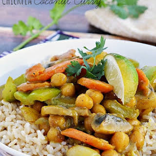 Gluten Free Chickpea Coconut Curry.