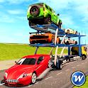 Car Transporter Trailer Truck Game: Car Parking icon