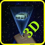 Hologram 3D Simulator Icon