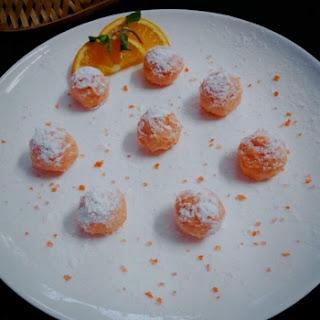 Orange Creamsicle Truffles Kids.
