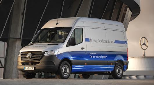 La nueva furgoneta eléctrica de Mercedes-Benz,  eSPRINTER, disponible en Saveres