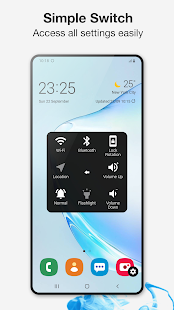 Assistive Touch zum Android Screenshot