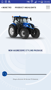 New Holland Ag. T6 range App screenshot 4