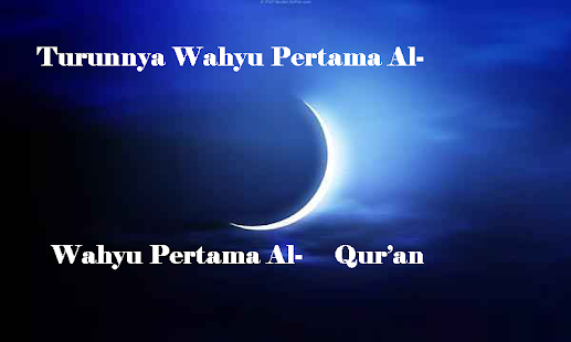 Turunnya Wahyu Pertama Al- Qur'an - náhled