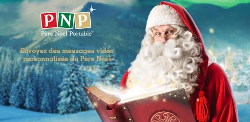 Lettre Au Pere Noel Video Personnalise.Pnp Pere Noel Portable Appels Et Videos Applications