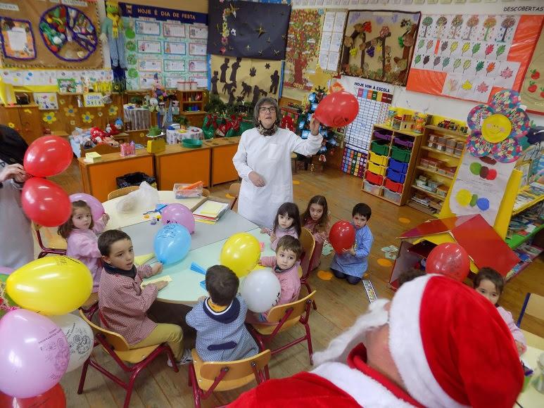 Última hora!! O Pai Natal dos Bombeiros de Lamego foi à escola!!