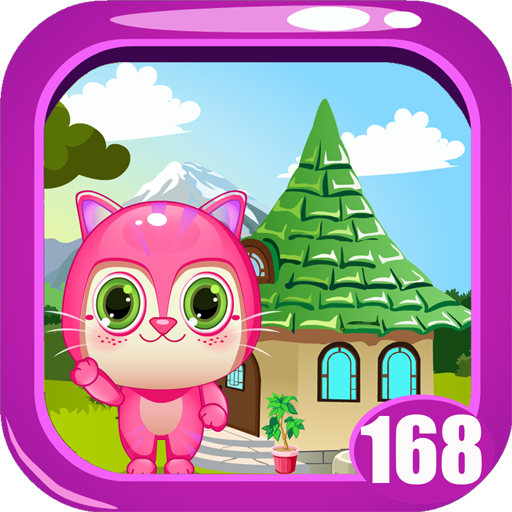 Cute Pink Kitty Rescue Game kavi - 168