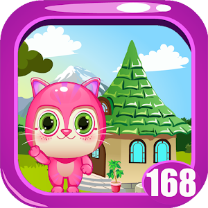 Cute Pink Kitty Rescue Game kavi - 168 for PC