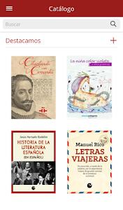 Libros-e Instituto Cervantes screenshot 2
