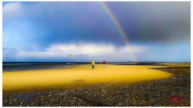 Photo: Regenbogen und Meer