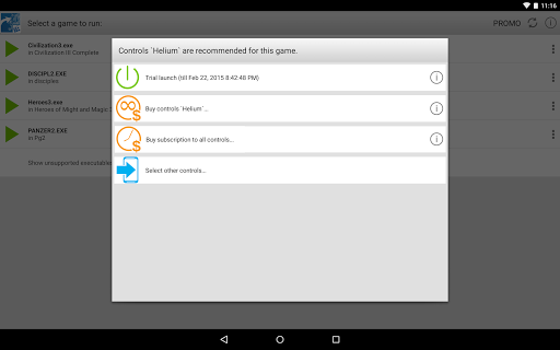 ExaGear Strategies - PC games for Android 3.4.0 Screenshots 3