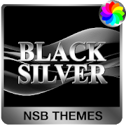 Black Silver Theme for Xperia