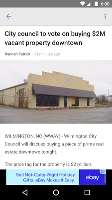WWAY NEWS - screenshot